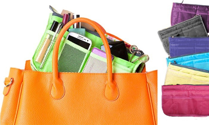 One or Two 13-Pocket Handbag Organisers from £2.26