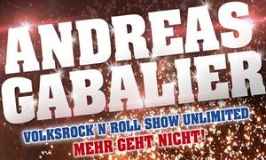 Manfred Hertlein Veranstaltungs GmbH: 1 Innenraum-Ticket für Volks-Rock 'n' Roller Andreas Gabalier am 2. September 2017 auf dem Hockenheimring (25% sparen)