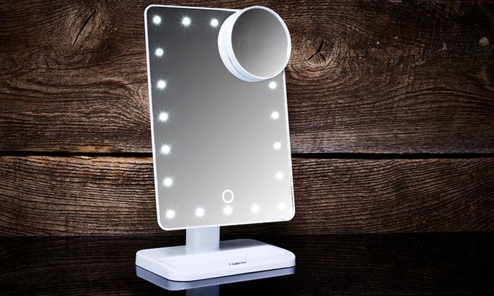 Make Up Spiegel : Bis zu rabatt touch screen led make up spiegel groupon