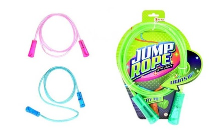 Toi Toys Jump Rope with Light or Skip Ball with Flashing Lights