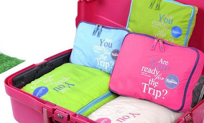 סט 5 ארגוניות שיהפוך את אריזת המזוודה למהירה, יעילה ומסודרת יותר