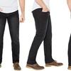 Men's 100% Cotton Regular Fit Washed Denim Jeans (Size 34)