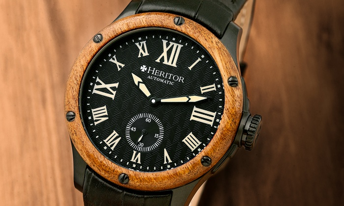 30d8dd32e Heritor Automatic Men's Watch   Groupon Goods