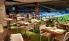 Real Café Bernabéu - Real Café Bernabéu: Menú para 2 o 4 con aperitivos, entrantes, principal, postre y botella de vino desde 49,90 € en Real Café Bernabéu