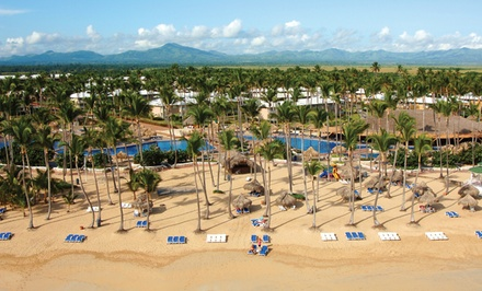 Groupon Deal: ✈ All-Inclusive Sirenis Punta Cana Resort Trip w/ Air, Taxes & Hotel Fees. Price per Person Based on Double Occupancy.