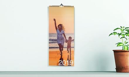 1, 2 o 5 calendarios de cocina personalizables de 10x30 cm o 13x42 cm en Printer Pix (hasta 85% de descuento)