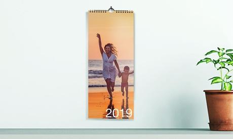 1, 2 o 5 calendarios de cocina personalizables de 10x30 cm o 13x42 cm en Printer Pix (hasta 84% de descuento)