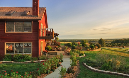 1-Night Stay for Two at Cedar Crest Lodge in Pleasanton, KS. Combine Up to 5 Nights.