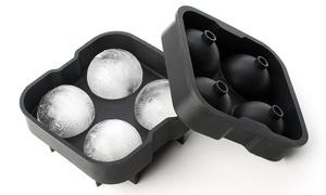 Moules pour 4 boules de glaçons