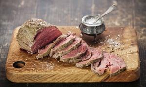 Vitelloni torino: Maxi grigliata di carne e calice di vino per 2 persone al ristorante I Vitelloni (sconto fino a 67%)