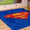 Batman and Superman Area Rugs (4'x6')