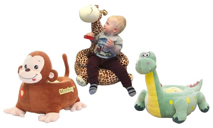 Groupon Goods Global GmbH: Pouf Sofa en peluche douce Liberty House Toys
