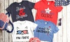 Up to 58% Off Personalized All American Kids T-Shirts
