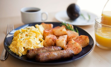 Steakhouse Cuisine or Breakfast at Vick's Restaurant (Up to Half Off). Three Options Available.