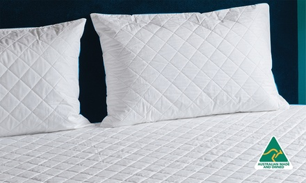 From $29 for Australian-Made Water-Resistant Fitted Cotton Mattress Protector