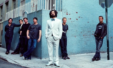 Counting Crows with Special Guest +LIVE+: 25 Years and Counting on Saturday, September 8, at 6:30 p.m.
