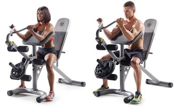 Gold's Gym Adjustable XRS 20 Workout Bench (Bench Only)