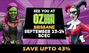 Oz Comic-Con: Oz Comic-Con: One-Day Child ($10) or Adult Ticket (Up to $27) 23-24 September, Brisbane (Up to $32.50 Value)