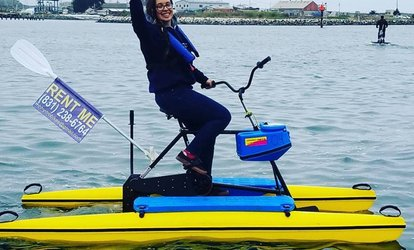 image for Two-Hour Hydrobike Rental for One or Two at Monterey Bay Hydrobikes (Up to 50% Off)
