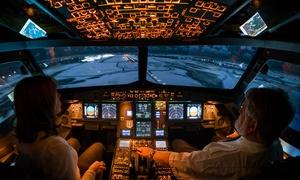 Flight Simulations Dresden: 30 oder 60 Min. Airbus A320 selber fliegen im Flugsimulator bei Flight Simulations Dresden (bis zu 35% sparen*)