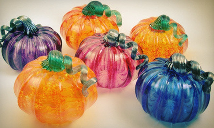 Luke Adams Glass - Norwood: One-Hour Glass-Blowing Pumpkin Workshop for One or Two at Luke Adams Glass (Up to 56% Off)