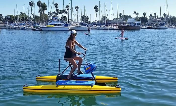 Marina Paddle - Marina Del Ray: $10 for Hydrobike Rental from Marina Paddle ($30 Value)