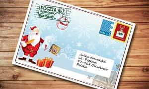 List od Mikołaja.pl: Świąteczny film od Mikołaja dla dziecka za 14,99 zł i więcej z List od Mikołaja.pl (do -55%)