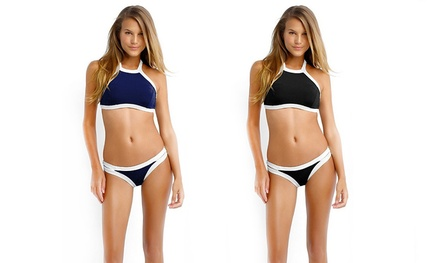 One (AED 59) or Two (AED 99) High Neck Bikinis
