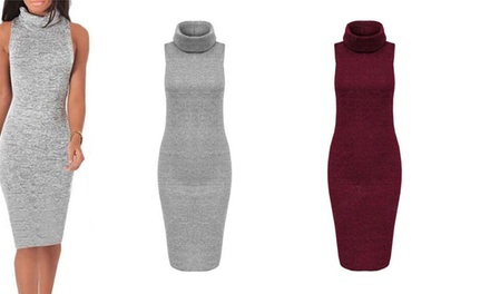 Turtleneck Midi Dress: One $19 or Two $29