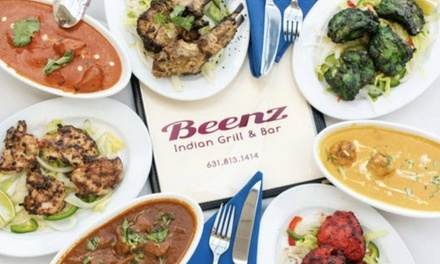 Up to 33% Off on Indian Cuisine at Beenz Indian Grill And Bar