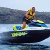 Moto de agua con wakeboard