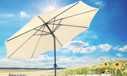 Gartenfreude Sonnenschirm in der Größe und Farbe nach Wahl, optional mit Schutzhülle (42,99 €)