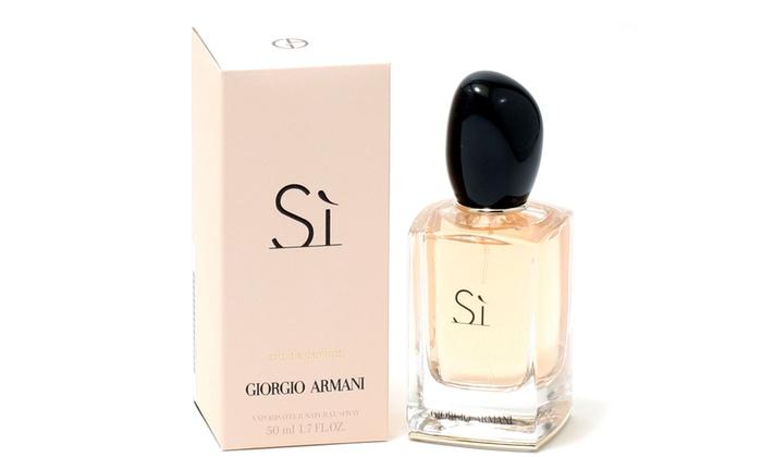 SHERALVEN ENTERPRISES LTD: Giorgio Armani Sì Eau de Parfum for Women (1.7 Fl. Oz.)