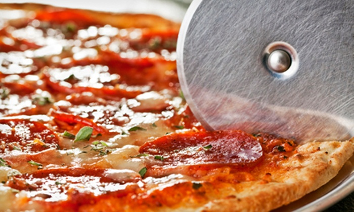 Giant New York Pizza - Vallejo: One or Two Groupons, Each Good for One Pizza Meal at Giant New York Pizza (49% Off)