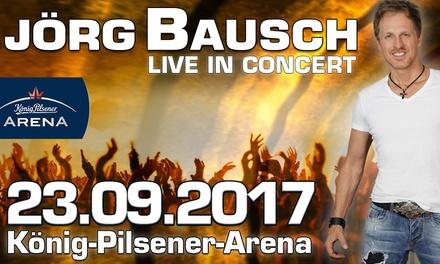 2 Tickets für Jörg Bausch - Live in Concert am 23.09. in der König-Pilsener-Arena in Oberhausen (bis zu 50% sparen)