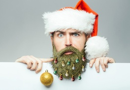Beardaments Beard Ornaments and Beard Glitter