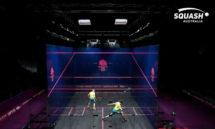 $9.90 for OneHour Squash Court Hire with Squash Australia, Multiple Locations Up to $42 Value