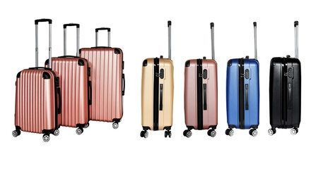 600W Chicago Three Piece Luggage Set With Free Delivery