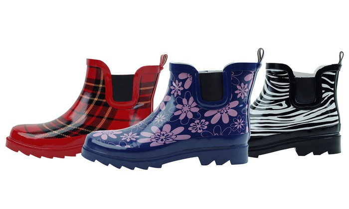 Gilbin's Women's Ankle Rain Boots | Groupon