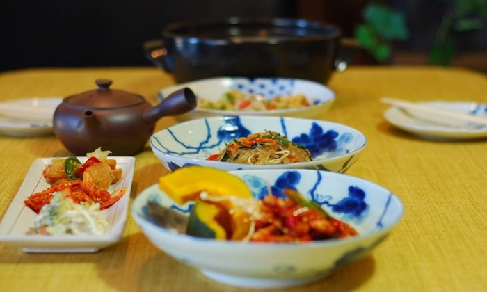 korean and japanese cuisine - dami korean fusion & sushi | groupon