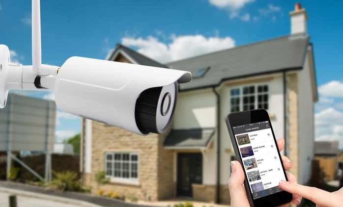 Indoor or Outdoor HD 720p WiFi Home Security IP Camera for £44.99 With Free Delivery