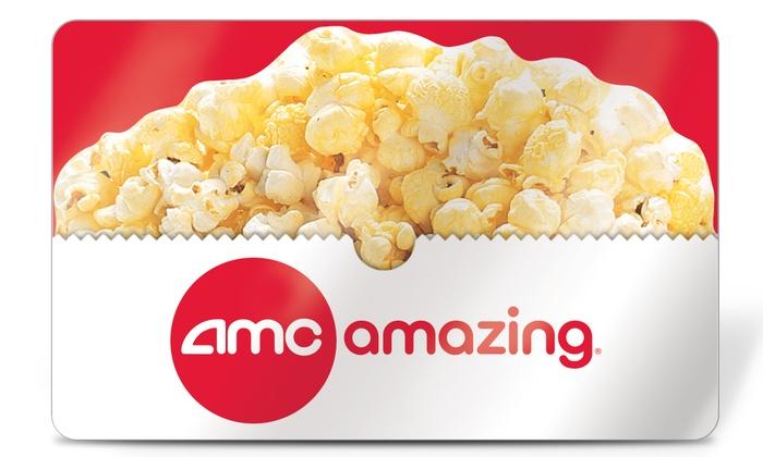 AMC Theatres®: $26 AMC Theatres®eGift Card (50% Off)