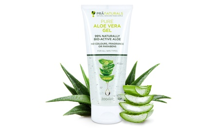 One or Two PraNaturals Aloe Vera Gels 200ml