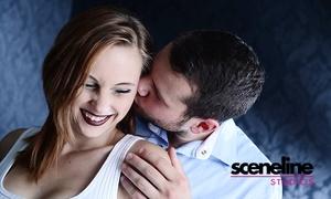 sceneline: 90 Minuten Pärchen/LoveStory-Fotoshooting inkl. Make-up, Bild und Poster bei sceneline studios (bis zu 71% sparen*)