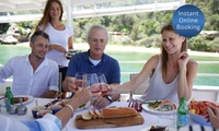 Three-Hour Sydney Harbour BBQ Cruise for 1 ($49), 2 ($95) or 10 People ($469) with Get On A Boat (Up to $1,390 Value)