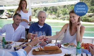 Get On A Boat: Three-Hour Sydney Harbour BBQ Cruise for 1 ($49), 2 ($95) or 10 People ($469) with Get On A Boat (Up to $1,390 Value)