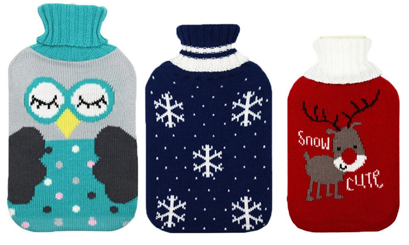 Christmas-Themed Hot Water Bottle