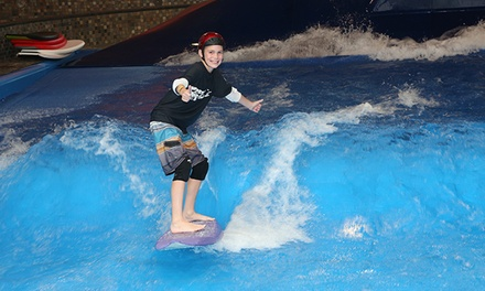 Indoor Surfing or Boogie Boarding for One or Two at Surf's Up (Up to 44%  Off)
