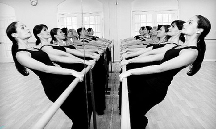 Fit 60 - Multiple Locations: 5 or 10 Barre Fitness Classes at Fit 60 (67% Off). Four Locations Available.