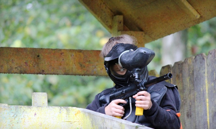 Synergy Paintball - Synergy Woods: All-Day Paintball Outing for 2, 4, or 12 at Synergy Paintball in Grafton (Up to 70% Off)